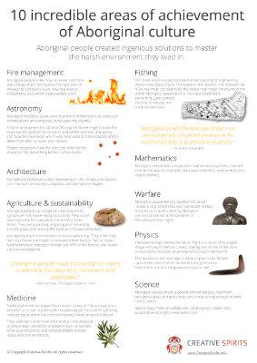 10 Incredible Areas of Achievement of Aboriginal Culture